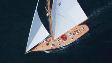 Photo of NY40 Marilee: Restoration of a Herreshoff Classic Boat. VIDEO
