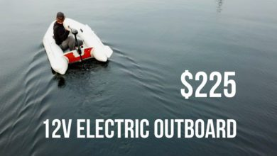 Photo of Testing our Cheap Electric Outboard for the First Time! – Sailing Britaly Ep. 11