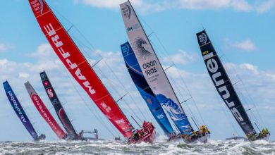 Photo of The closest Volvo Ocean Race in the 45-year history of the event in 720 seconds