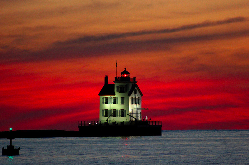 7 Lighthouses in USA Lorain Lighthouse