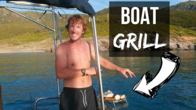 Photo of Boat Barbecue (Small, Simple and CHEAP) Tips! VIDEO