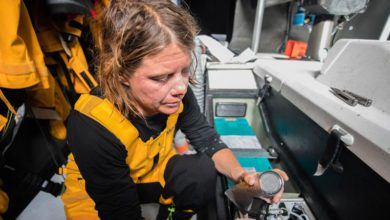 Photo of Discovering the Global Microplastic Map provided by the Volvo Ocean Race
