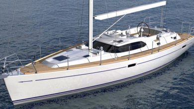 Photo of The new Hylas H48 Hits the Road ahead of Her Debut in Newport and Annapolis