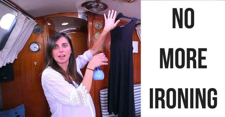Photo of Sailing Britaly – Hack: Ironing Clothes WITHOUT an Iron!