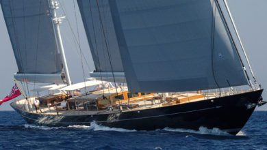 Photo of Behind The Scenes Of The Impressive 184ft Ketch Aquarius by Royal Huisman