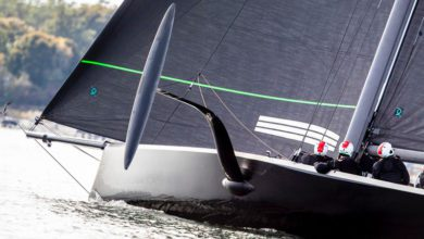 Photo of New York Yacht Club launch America's Cup test boat