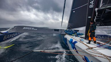 Photo of Armel Le Cléac'h Capsizes in the Atlantic but Skipper is Reported Safe