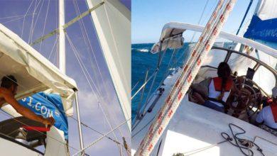 Photo of Sailing Nandji Ep 102 – Rough Seas, Strong Winds! Hang onto your knickers!