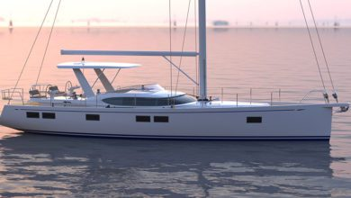 Photo of Hylas Yachts Added a New Sleek Hardtop to the H57
