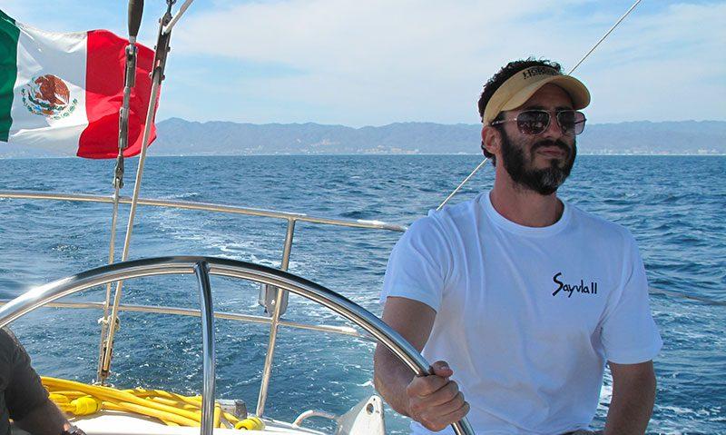 the weekend sailor Bernardo arsuaga