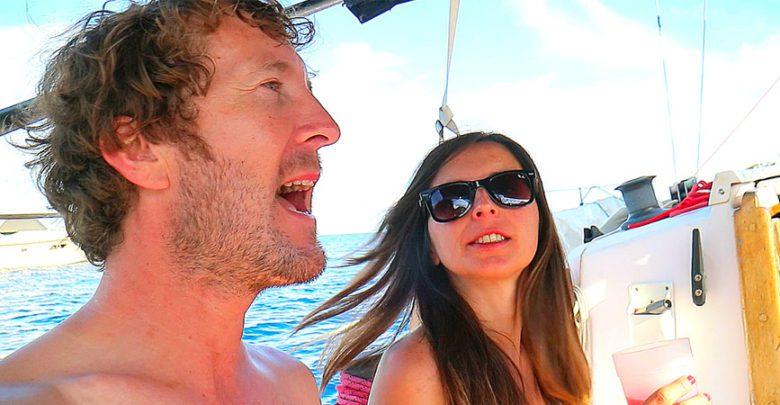 Photo of Sailing Britaly – Life at Anchor – Small Boat vs Mega Yacht
