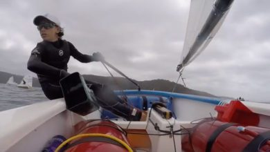 Photo of How to Keep the Optimist Dry and Fast. VIDEO