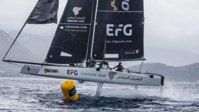 Photo of Supersonic Oman Air Wins Wintery GC32 Villasimius Cup