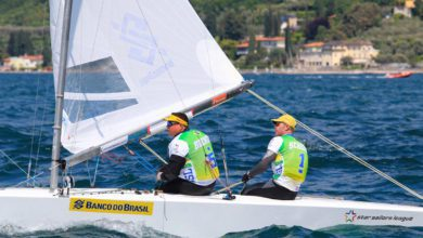 """Photo of Robert Scheidt: """"In Sailing There Are Rules, It's A Game, But With Its Own Rules"""""""
