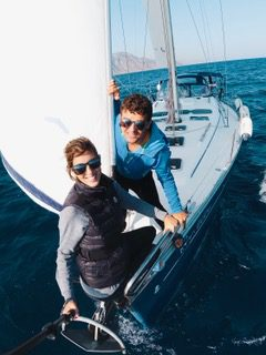 When Sailing