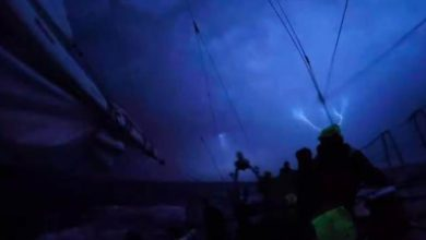 Photo of Lightning Storm Captured As Clipper Race Approached Punta del Este
