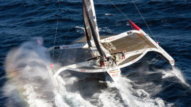 Photo of Extreme Conditions for Joyon, With Idec Sport 900 Miles From The Record