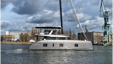 Photo of The New Sunreef 80 Double Happiness Bound For China