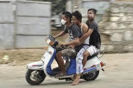 No helmet, no fuel in Manipur