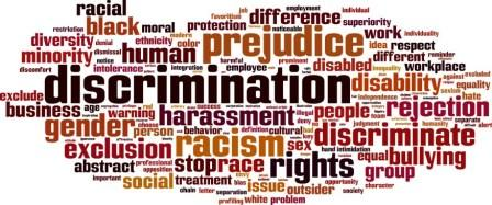 Act against law that Discriminates