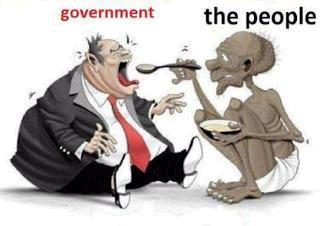 देश आगे बढ़ रहा, लोग पीछे रह जा रहे