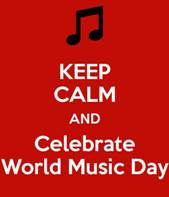 Today is World Music Day