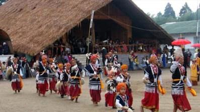 Shillong sways to Nongkrem Dance