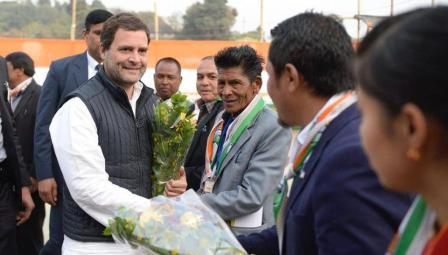 Rahul promises safeguards to Meghalaya's fickle electorate