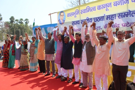 Dalits threaten non-cooperation with elections if land causes are not taken seriously
