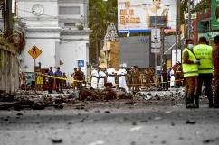 Sri Lanka mourns as investigation into deadly blast continues