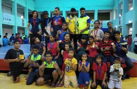 बिहार में वुशू खिलाड़ियों ने अपनी प्रतिभा का बेहतरीन प्रदर्शन किया।
