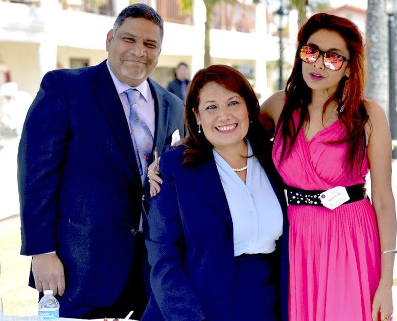 Nelson Pichardo, Chief of Staff to former Assemblywoman Patty Lopez, Former Assemblywoman Patty Lopez and Sanjana Jon