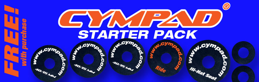 TRX Cymbals To Include Free Cympad Starter Pack.