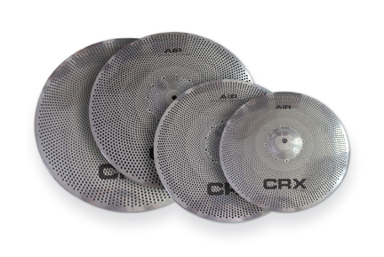 """AIR™"" Affordable, Low Volume Cymbals From CRX®"