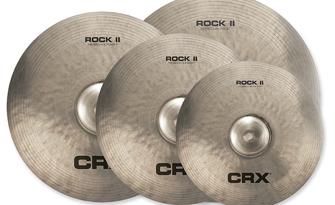 The New ROCK II Series Is The Latest Upgrade To The CRX Cymbal Line.