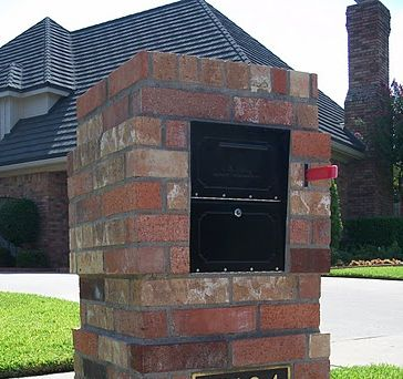 Information on Security Inserts for Brick Mailboxes