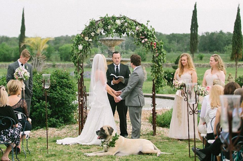 James & Rachel's April Wedding