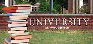 export controls colleges universities