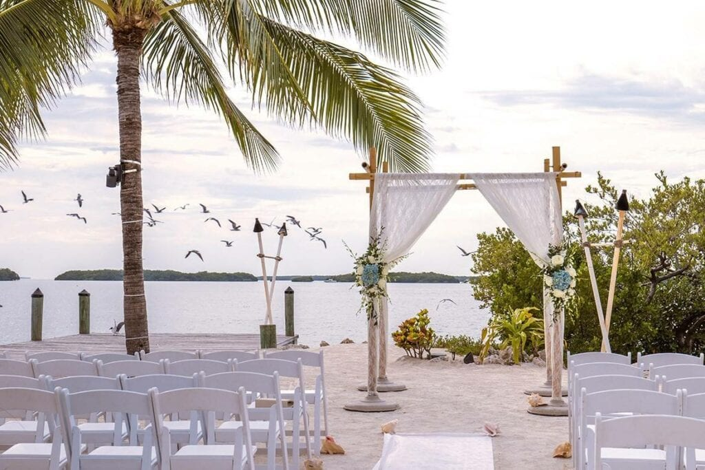 ceremony and reception only beach wedding venue
