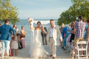 Ocean Pointe Suites Wedding in Key Largo, FL