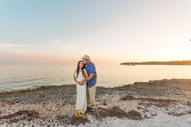 Real Wedding in Marathon – Flamingo Package – Eryka & Michael