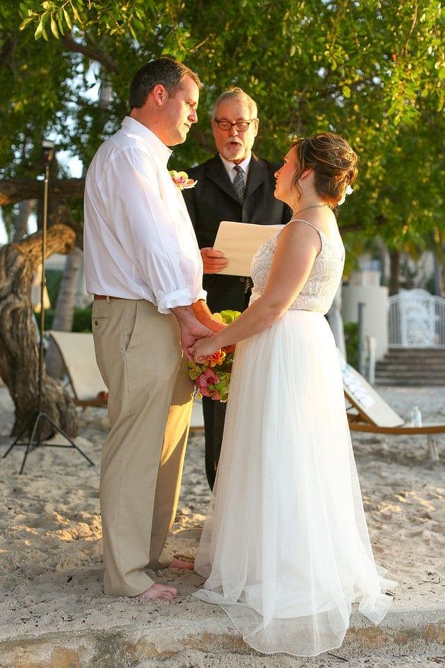 Real Beach Wedding at Playa Largo Resort in Key Largo, Florida