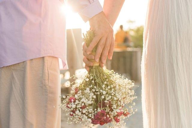 Real Wedding in Key Largo – Flamingo Package – Maria & Adam