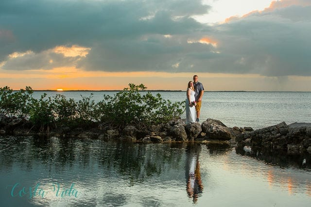 Real Wedding in Key Largo – High Tide Package – Tyra & Kyle