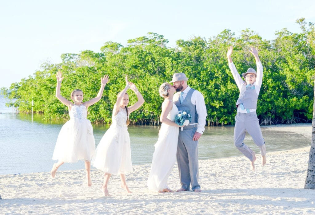 Real Wedding at Founders Park in Islamorada