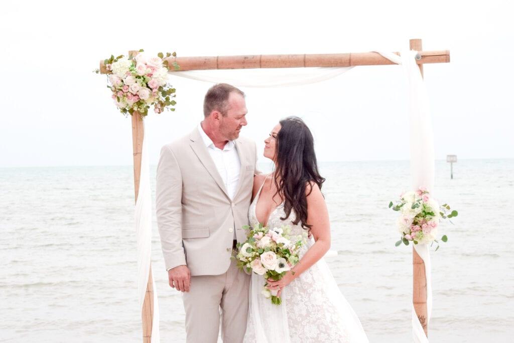 Smathers Beach Wedding in Key West, Florida
