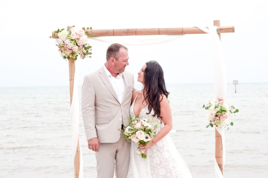Real Wedding in Key West – Kalen & Ashley – Hightide Package