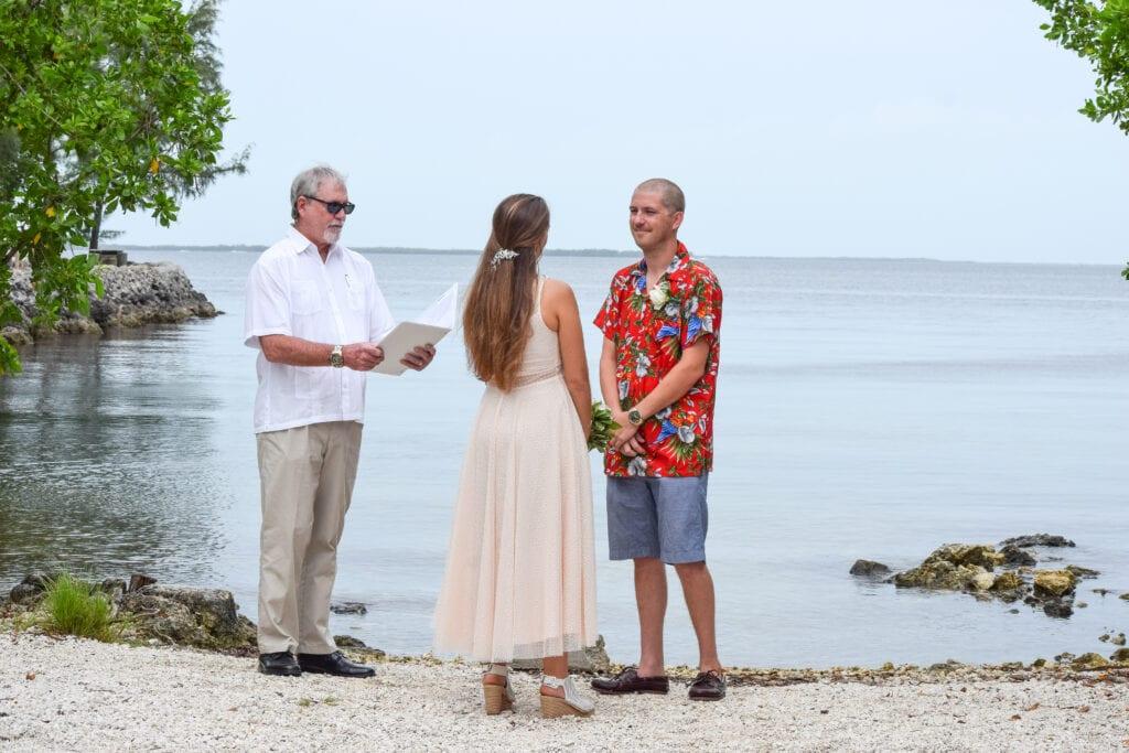Rowells Park Wedding in Key Largo, FL