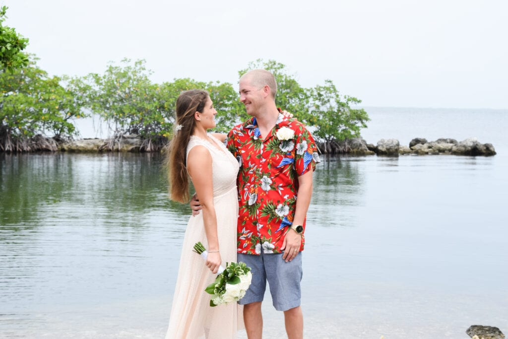 Rowells Park Wedding in Key Largo, FL