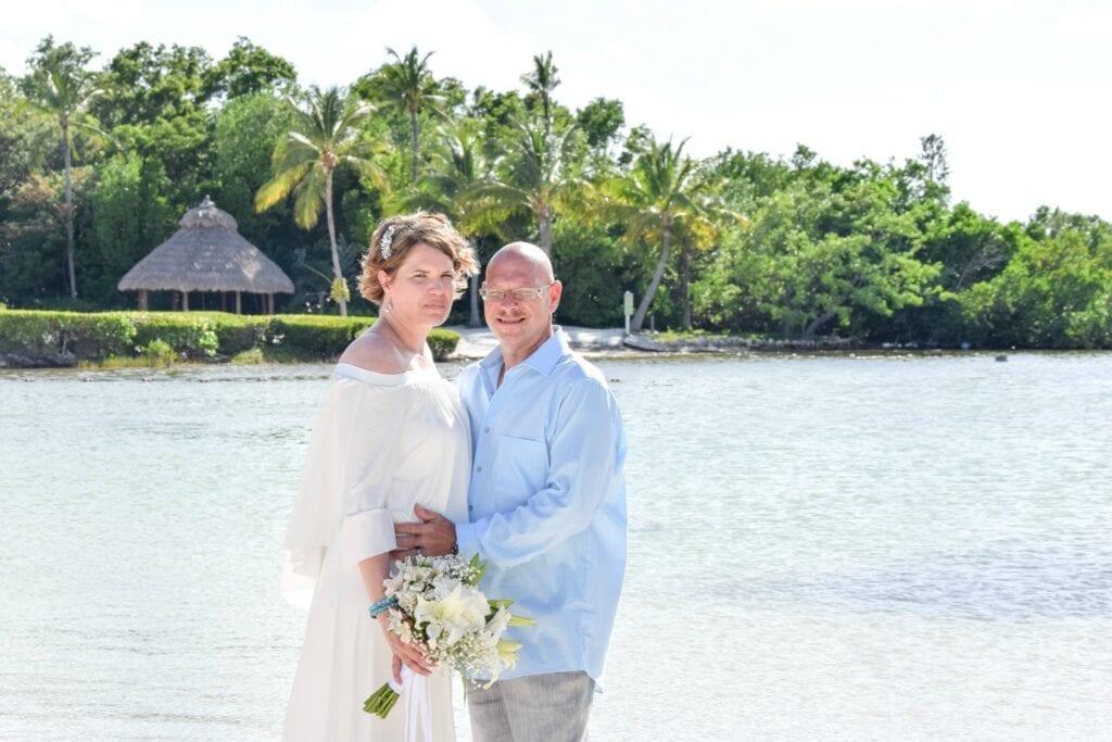 Real Wedding in Islamorada – Ernest & Jessica – Mangrove Package